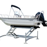 Hydraulic Boat Lift for Boston Whaler
